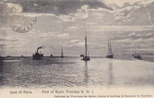 Gulf of Paria , Port Of Spain , Trinidad , PU-1908