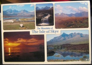 Scotland Isle of Skye Mountains Blaven Cuillins etc - posted 1993