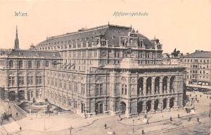 Wien Austria Hofoperngebaude Wien Hofoperngebaude