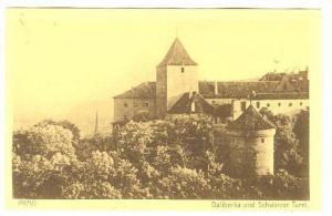 Daliborka Und Schwarzer Turm, Prag, Czech Republic, 1900-1910s