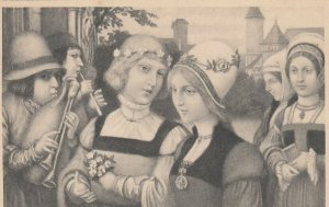 M.M.VIENNE : 1901-07; Couple in Medieval Times