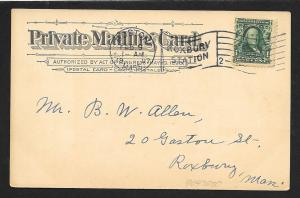 WORLDWIDE Stamps on Postcard Used c1907
