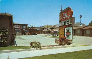Ventura California City Center Motel Exterior View Vintage Postcard JD228016