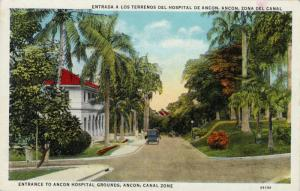 Entrance to Ancon Hospital Grounds,Ancon,Canal Zone,Panama,00-10s
