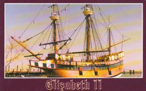 Elizaabeth II 16th Century Sailing Vessel