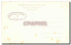 Old Postcard Musee d & # 39archeologie Perugia