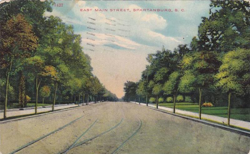 East Main Street, Spartanburg, South Carolina, PU-1910