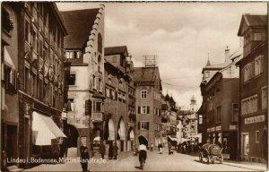 CPA AK Lindau I. B.- Maximilianstrasse GERMANY (882983)