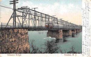 Delaware Bridge in Trenton, New Jersey