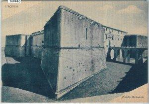 60443  - CARTOLINA d'Epoca - L'AQUILA città :  Castello