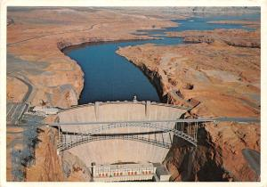 Arizona Glen Canyon Dam, concrete, Colorado River, Lake Powell, near Page