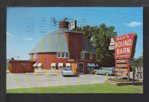 Rock's Round Barn Restaurant,Spring Green,WI Postcard