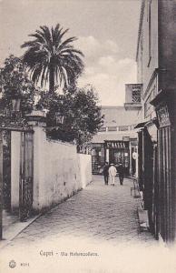CAPRI , Italy , 00-10s;  Via Hohenzollern