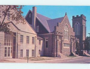 Unused Pre-1980 CHURCH SCENE Lewes Delaware DE p3789@