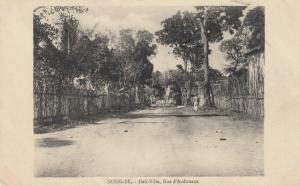 NOSSI-BE , Madagascar , PU-1913 ; Hell-Ville, Rue d'Andouane