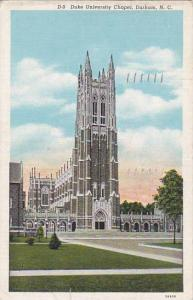 Exterior,  Duke University Chapel,  Durham,  North Carolina,  PU_1939