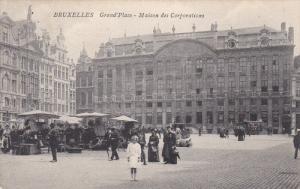 Grand'Place, Maison Des Corporations, BRUXELLES, Belgium, PU-1907