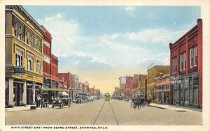 Shawnee Oklahoma~~Paint & Paper Store~Cozy Cafe? The Palace Pharmacy~1920s PC