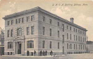 B59/ Billings Montana Mt Postcard 1910 YMCA Building