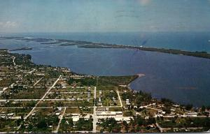 Florida Englewood Aerial View 1958