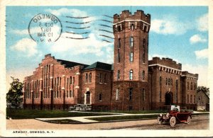 New York Oswego The Armory 1917 Curteich