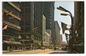 Chicago, Illinois, State Street Looking South