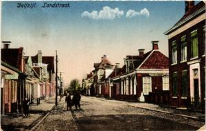 CPA DELFZIJL Landstraat NETHERLANDS (604146)