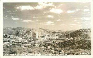 1956 View Nogales Arizona RPPC Photo Postcard 3384