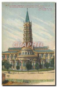 CARTE Postale Old Toulouse Apse of the Basilica of St. Sernin