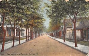 Excelsior Springs Missouri~East Excelsior Street Homes~Sanitarium Porch~1910 PC
