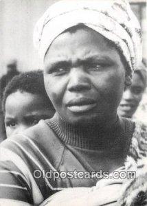 Women Apartheid South Africa Unused
