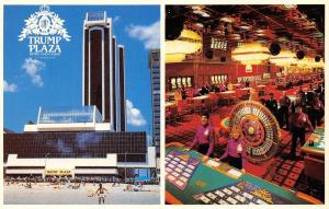 Atlantic City New Jersey~Trump Plaza Hotel & Casino~Inside Out~Roulette~1980s PC