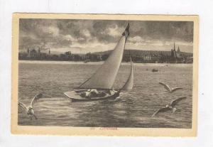 View Of The Zurichsee-Lake Zurich, Zürich, Switzerland, 1900-1910s
