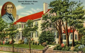 VA - Winchester.   General Morgan's Home