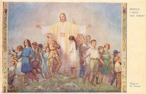 Behold I send you forth by Margaret W. Tarrant Medici Society postcard