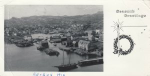 RP: BRIGUS , Newfoundland , Canada , 1969; Harbor View, Season's Greetings