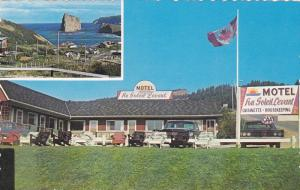 Motel Au Soleil Levant, Sea, PERCE, Quebec, Canada, 40-60´s