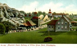 PA - Willow Grove Park. Mountain Scenic Railway