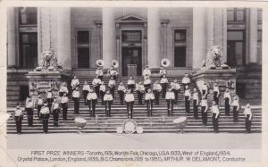 RP: Band winners , CNE , Toronto , Ontario , Canada , 1931
