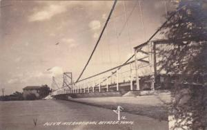 RP; Bird's Eye View,  International Bridge, Reynosa, Tamaulipas, Mexico, 10-20s