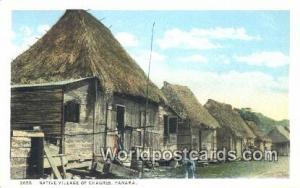 Panama Panama Native Village of Chagres