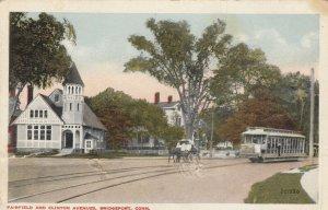 BRIDGEPORT , Connecticut , 1916 ; Fairfield and Clinton Avenues