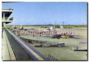 Postcard From Paris Orly Airport Modern Aire De Parking
