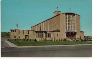 Rapid City, SD, Early View of Our Lady of Perpetual Help Catholic Cathedral
