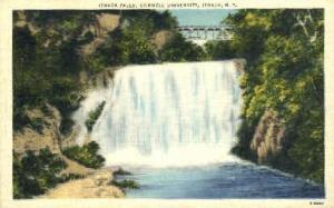 Ithaca Falls, Cornell University Ithaca NY Unused