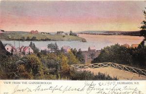 Hubbard Nova Scotia Canada 1907 Postcard View From The Gainsborough