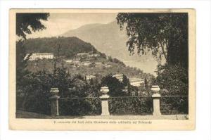 Il convento dei frati della Sfondrata dalla collinetta del Belmonte, ITALY , ...