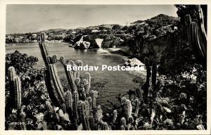 curacao, N.A., WEST POINT, Bay and Beach (1950s) RPPC