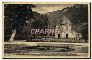 Old Postcard Echternach pélite Switzerland Luxembourg Pavilion Louis XIV