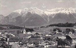 Austria Innsbruck Kurort Igls gegen die Nordecke Real Photo